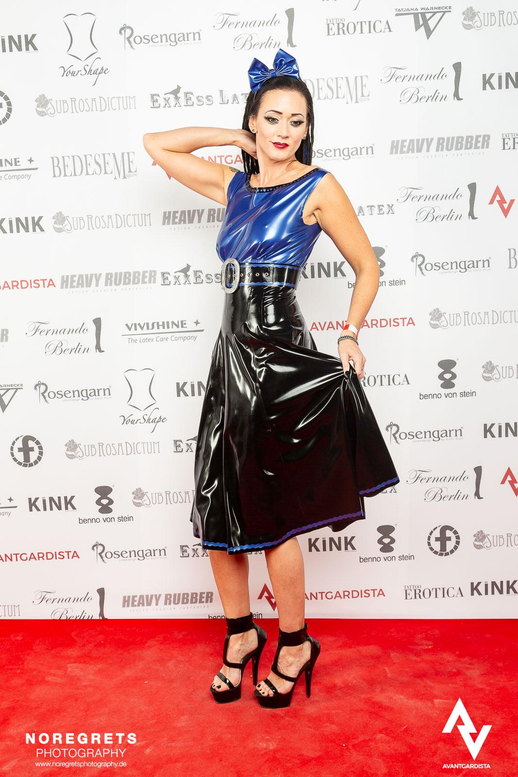 Latex Audrey Dress