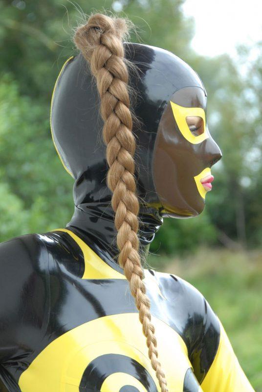 Latex Incognito masker +