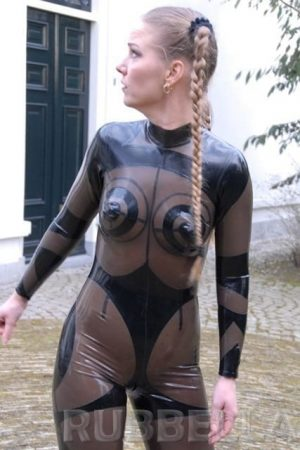Latex Hypnose Catsuit