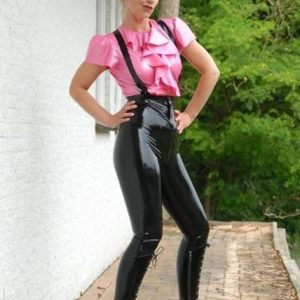 Latex Jasmine Blouse
