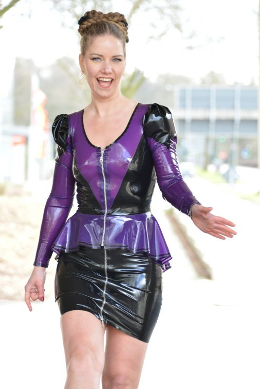 Latex Flairy Jacket