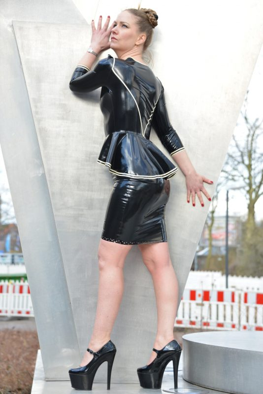 Latex Flair Jacket