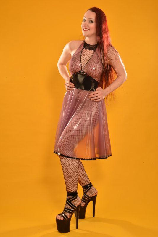 Latex Ruby Monroe Jurk