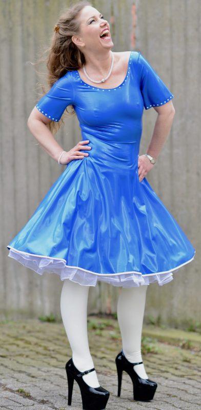 Latex Alice Dress