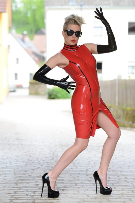 Latex Claire Dress