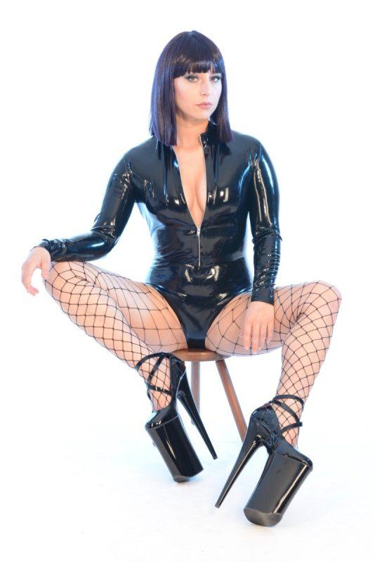 Mistress Silver Zip Body