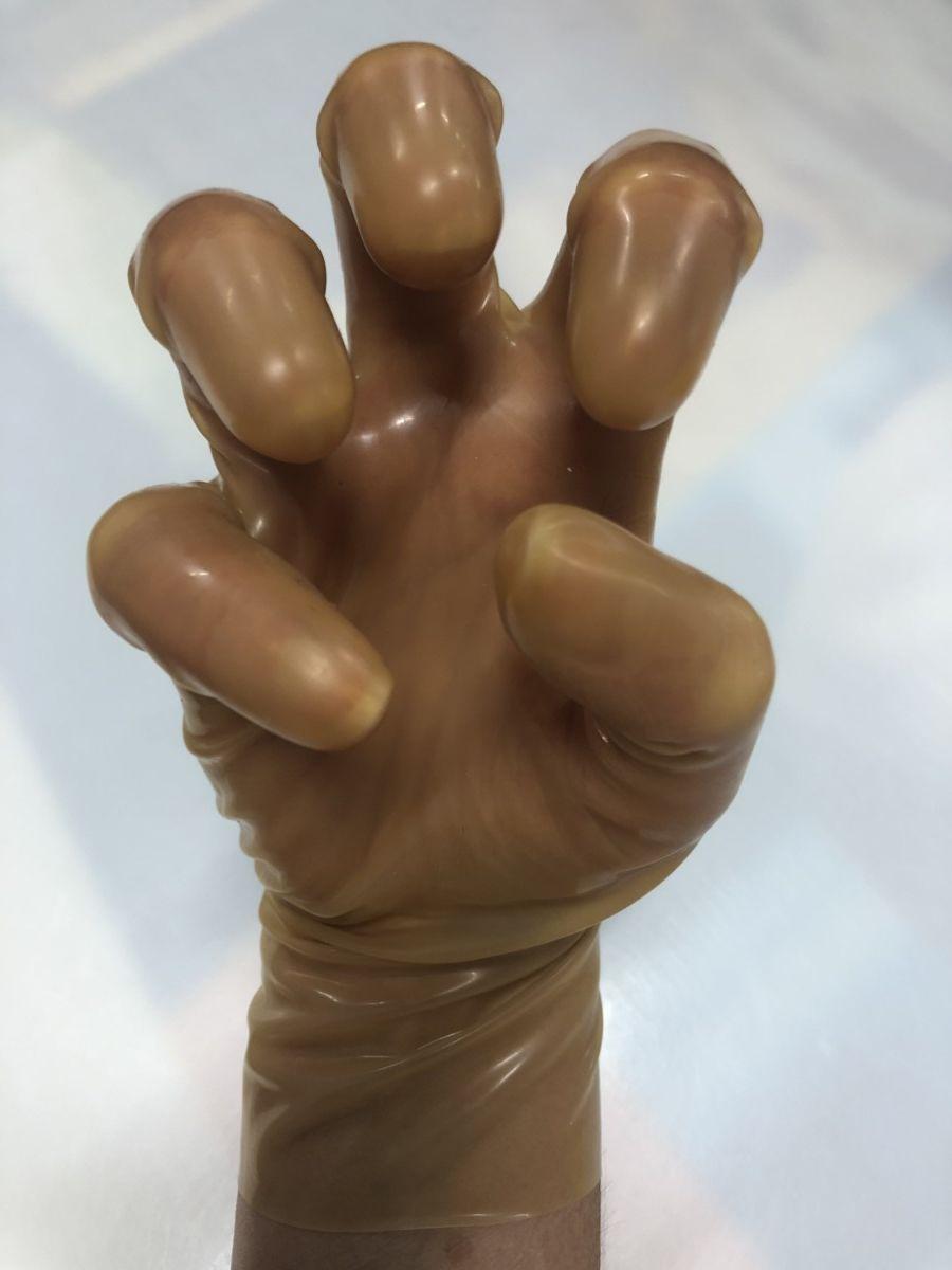 Latexa 25cm Gloves Transparent