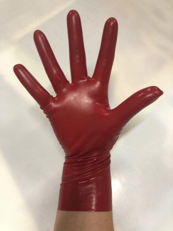 Latexa 25cm Gloves Red