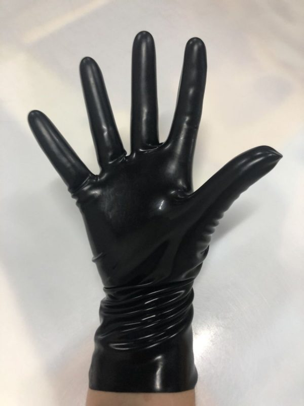 Latexa 25cm Gloves Black