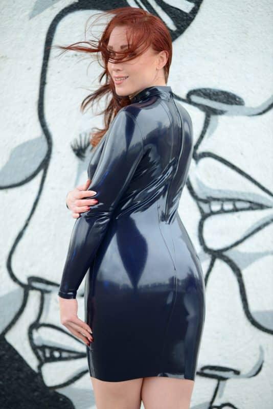 Latex Vixen Dress