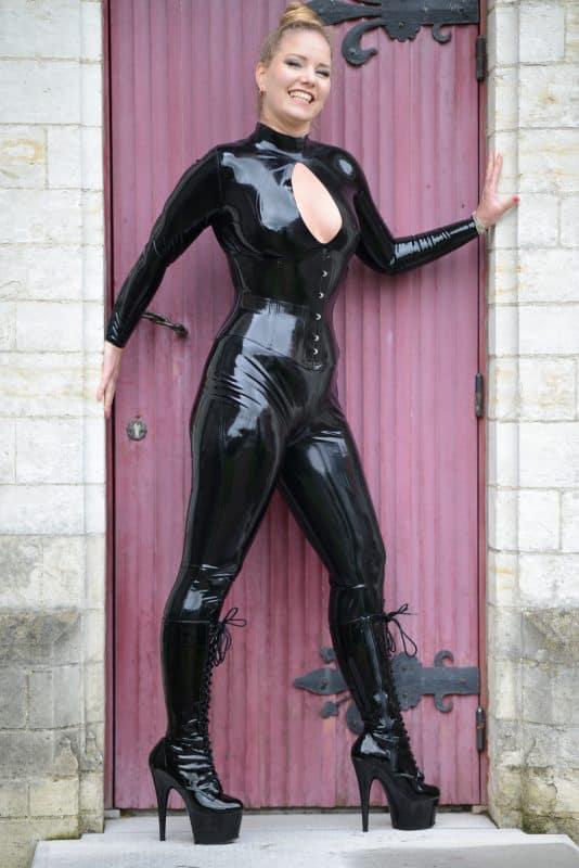 Latex Vixen Catsuit
